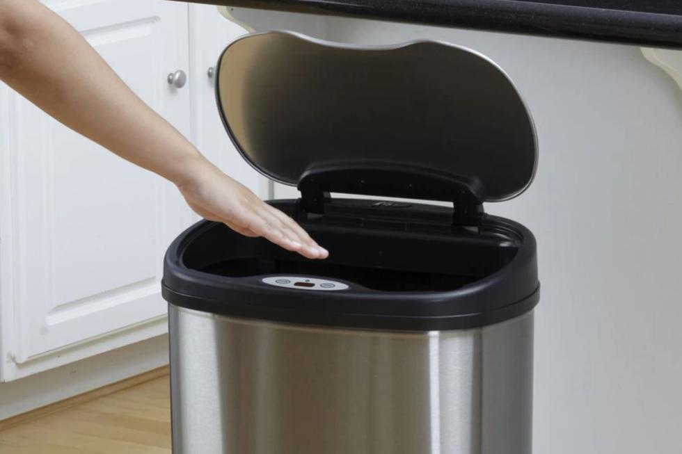 automatic rubbish Bin uk