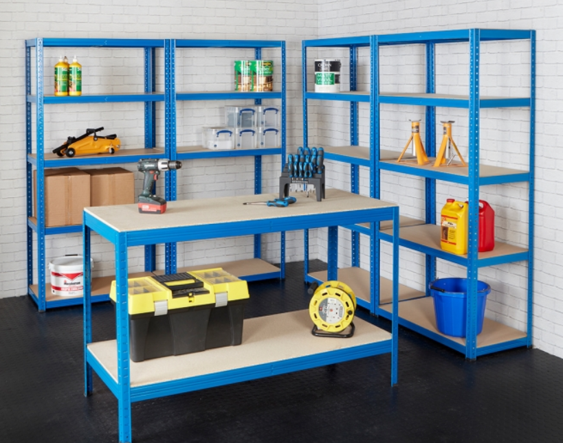 best garage shelving units
