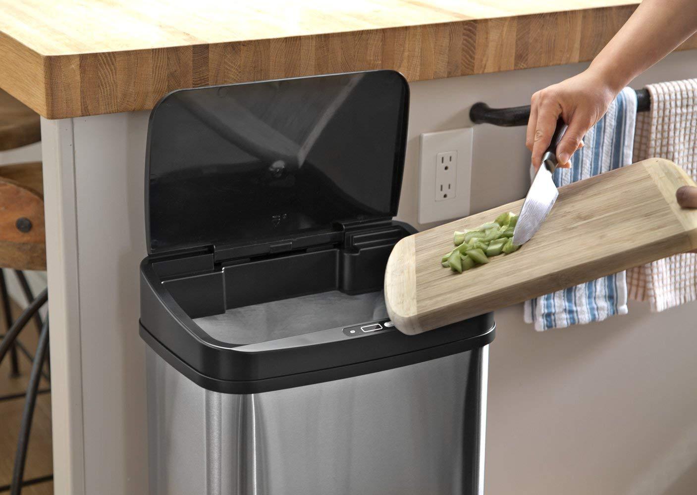 best sensor touchless rubbish bin