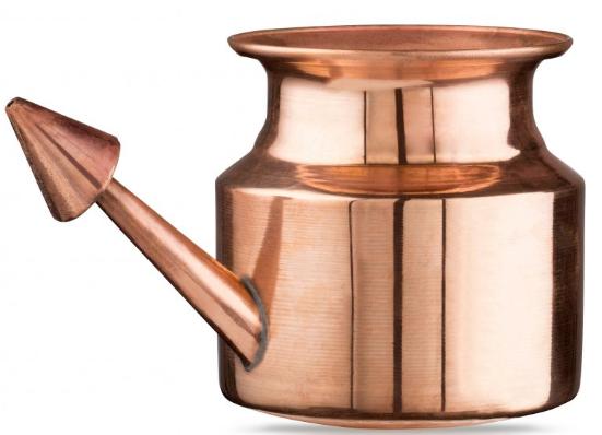 copper neti pot