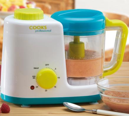 Baby Food Steamer and Blender