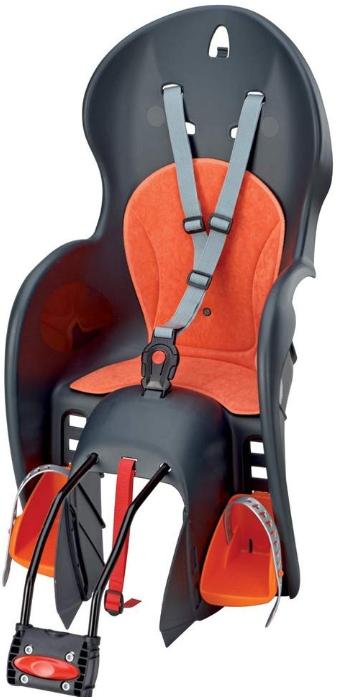 child bike seat with adjustable footrest