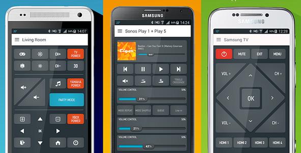 universal remote control smartphone app
