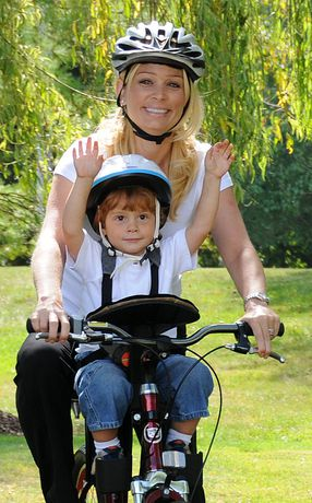 child bike seat in front