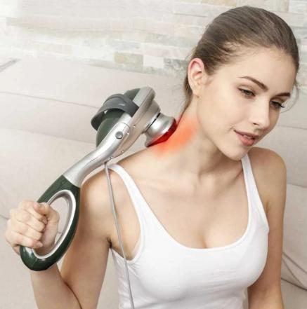 using handheld massager