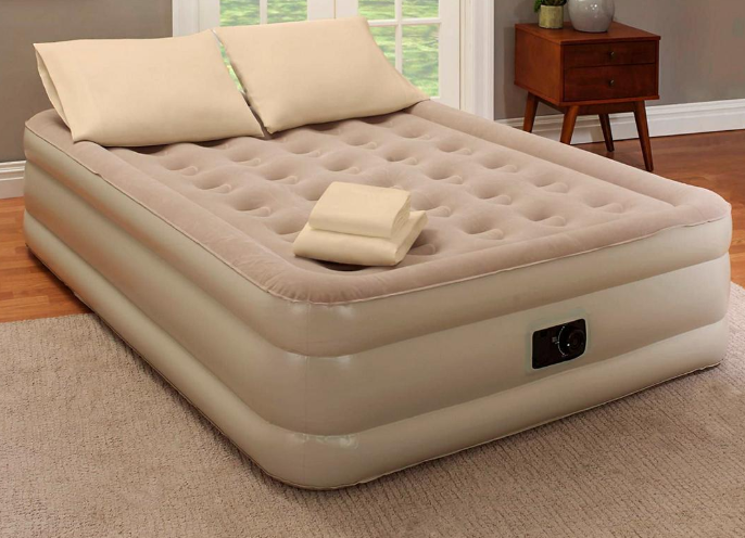 Elevated Inflatable Air Mattress