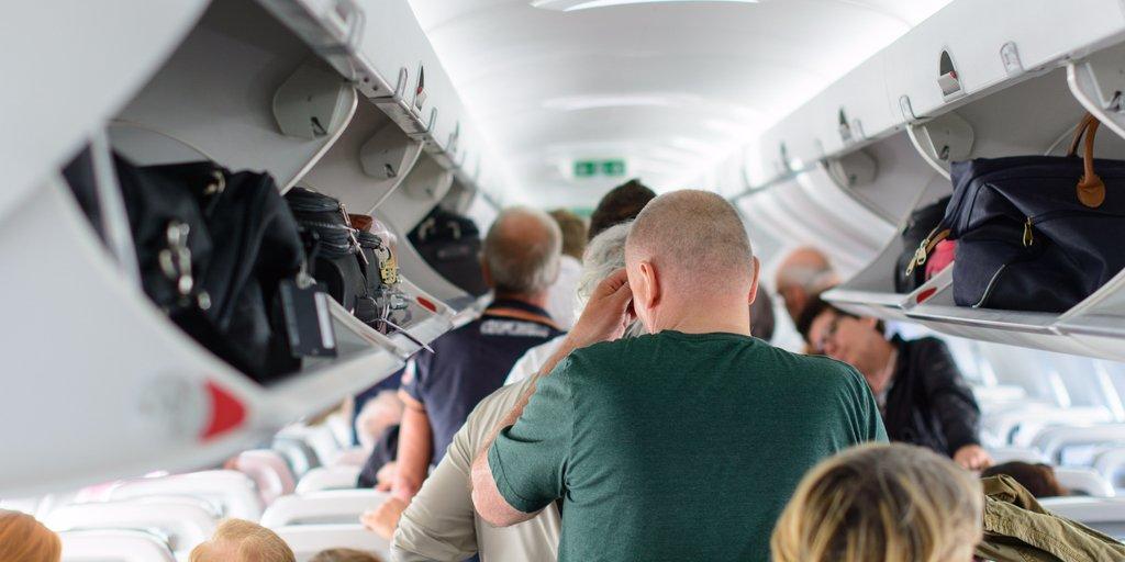 cabin luggage on board
