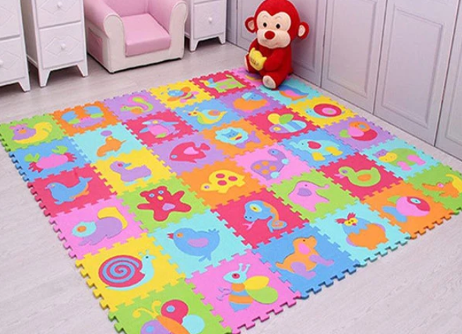 puzzle play mat for babies and kids