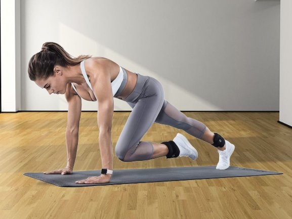 using ankle weights