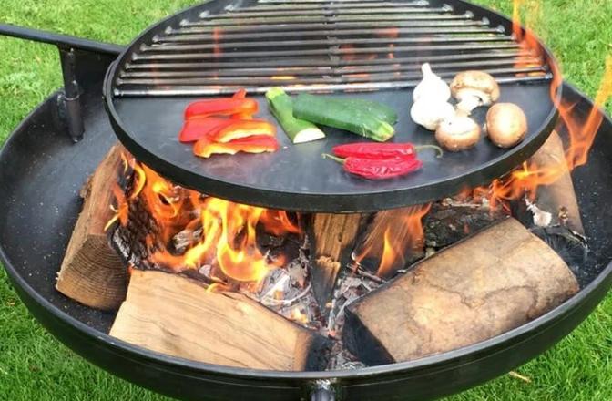 fire pit BBQ grill
