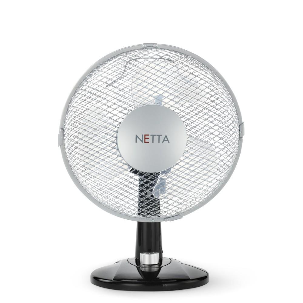 NETTA 3-Speed Oscillating Desk Fan