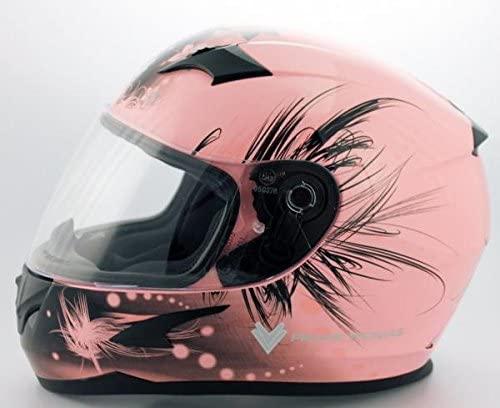 Pink Ladies Motorbike helmet