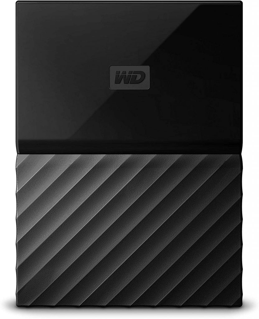 WD My Passport 4 TB Portable Hard Drive