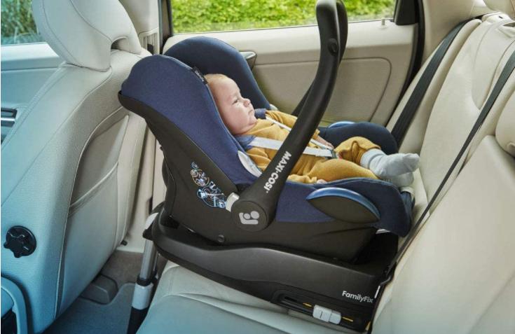 baby in Maxi-Cosi CabrioFix Car Seat