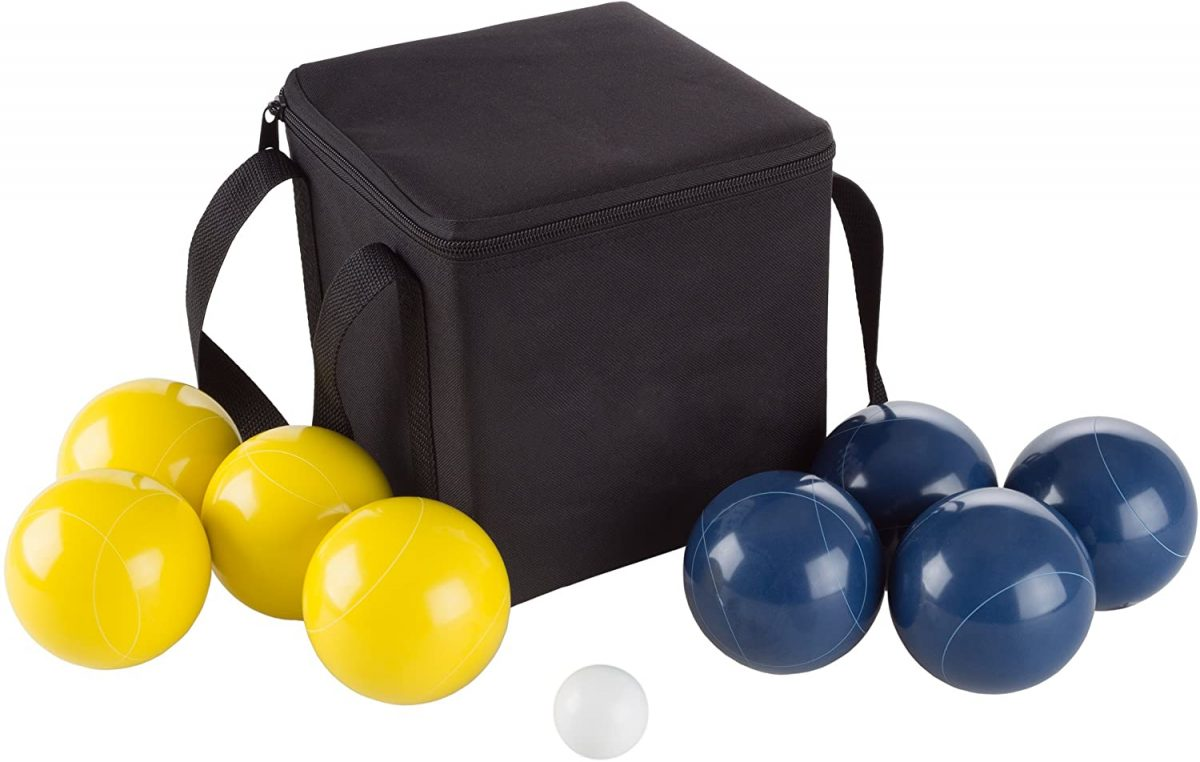 Bocce Ball Set with Carrying Case