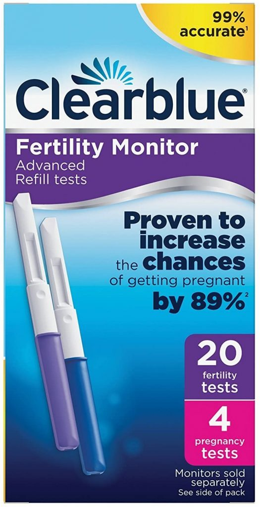 Clearblue Pack of 20 Fertility Tests For Ovulation and Pregnancy
