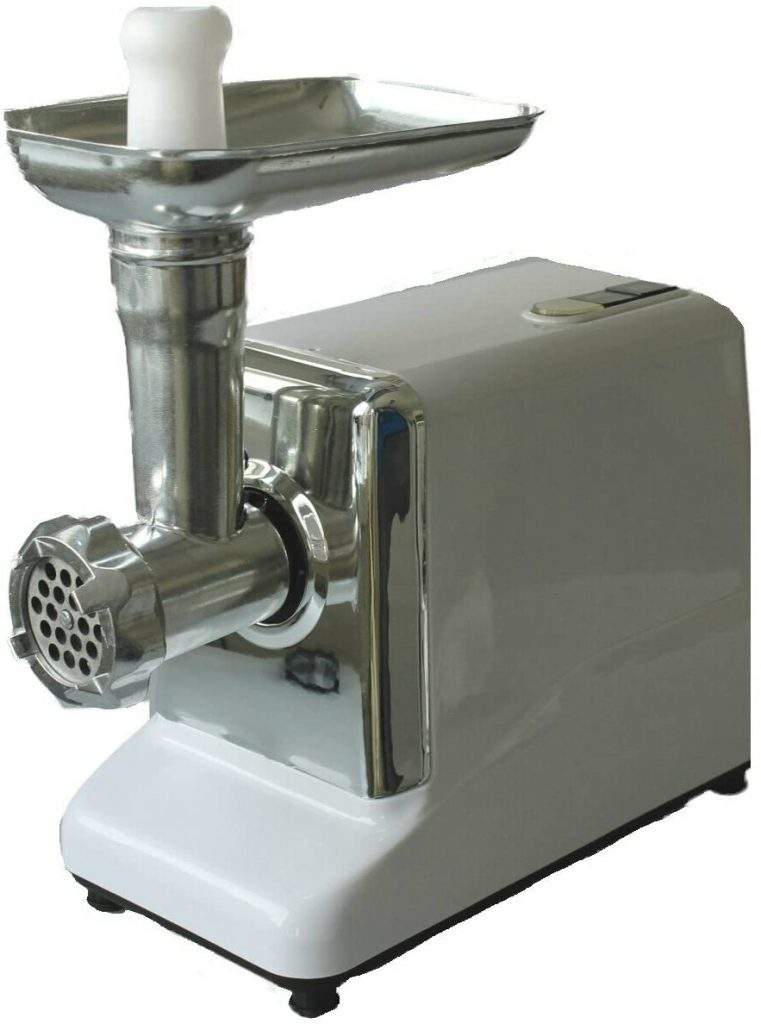 Meat mincer including cookie cutter