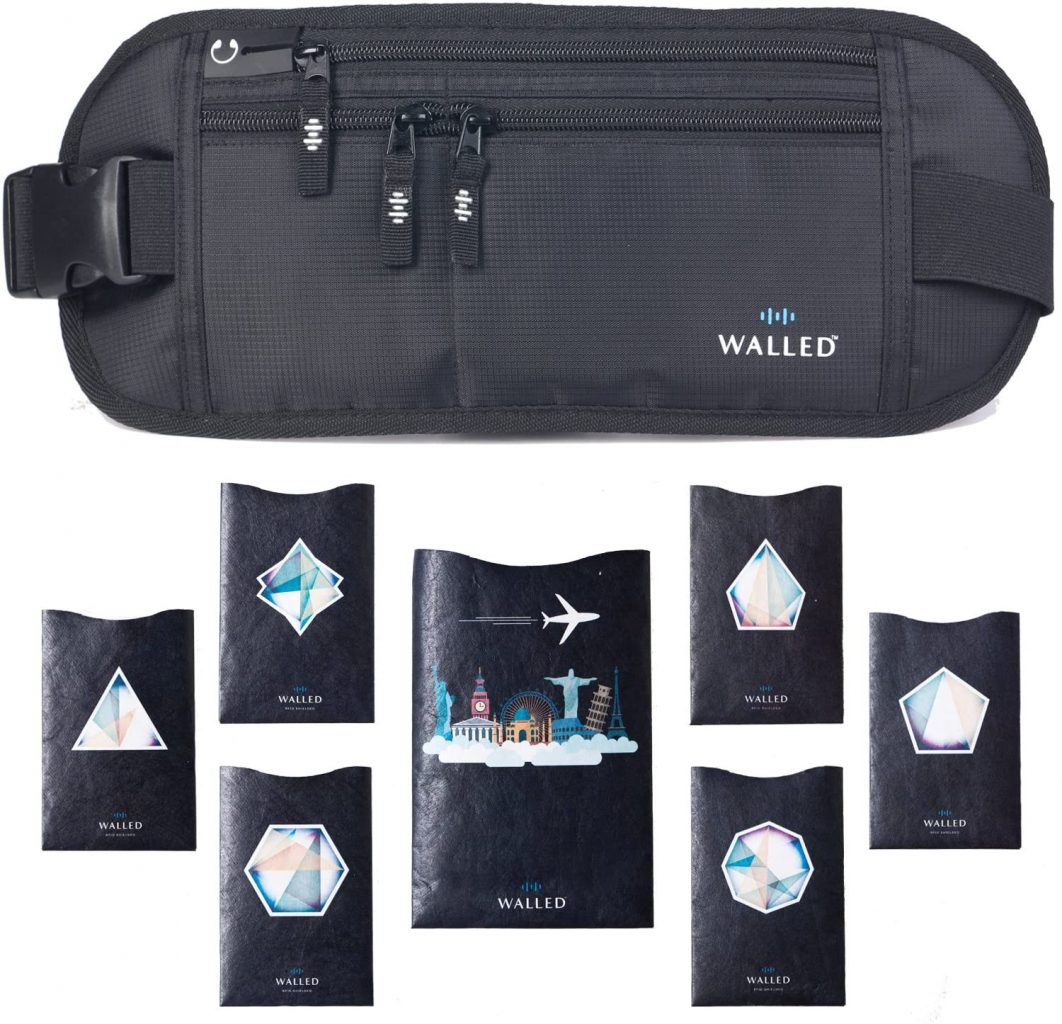 Money Belt for Travelling - Walled