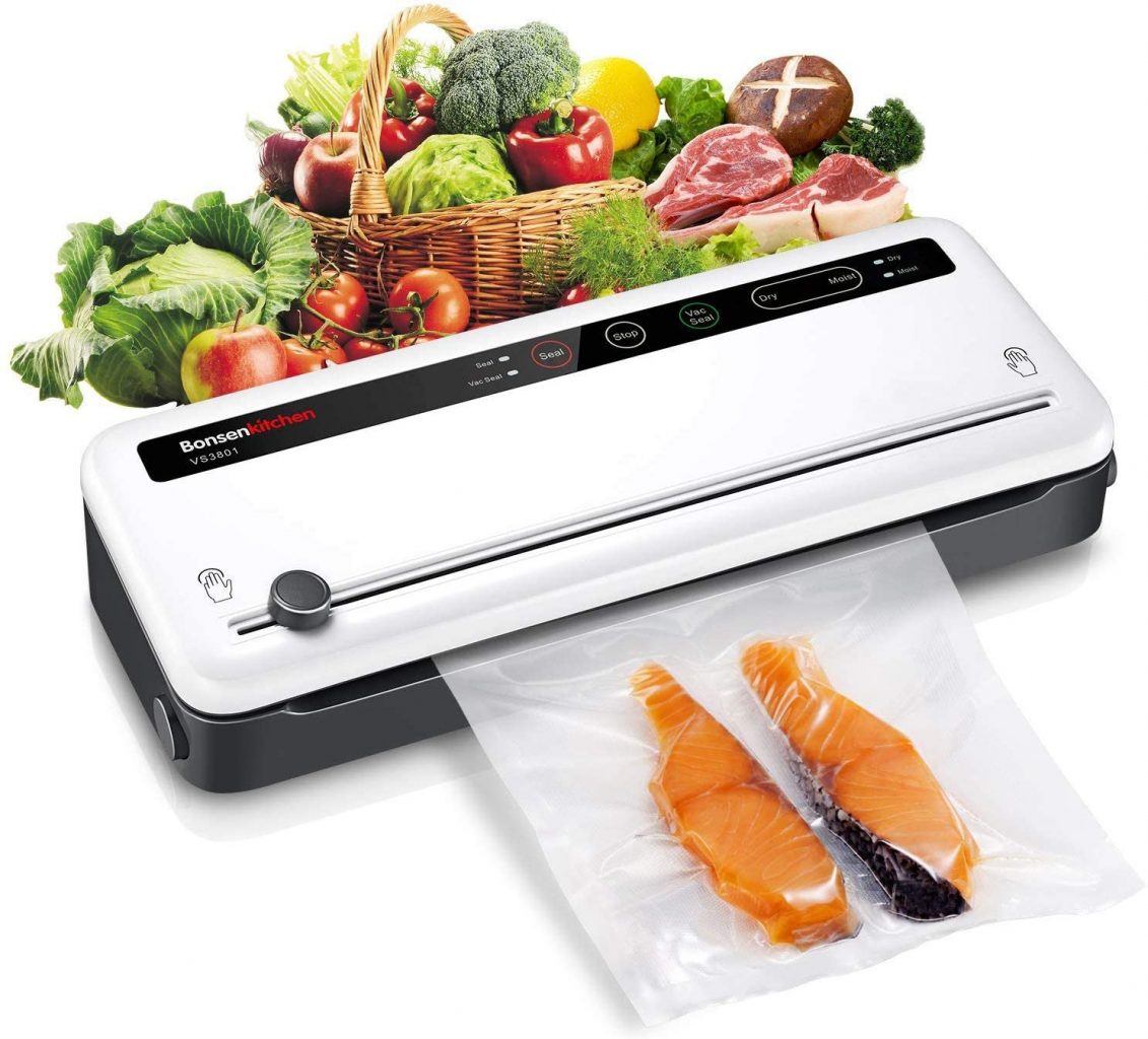 Vacuum Sealer with Built-in Cutter