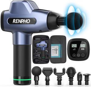 RENPHO with 20 Adjustable Power Levels and 6 Massage Heads