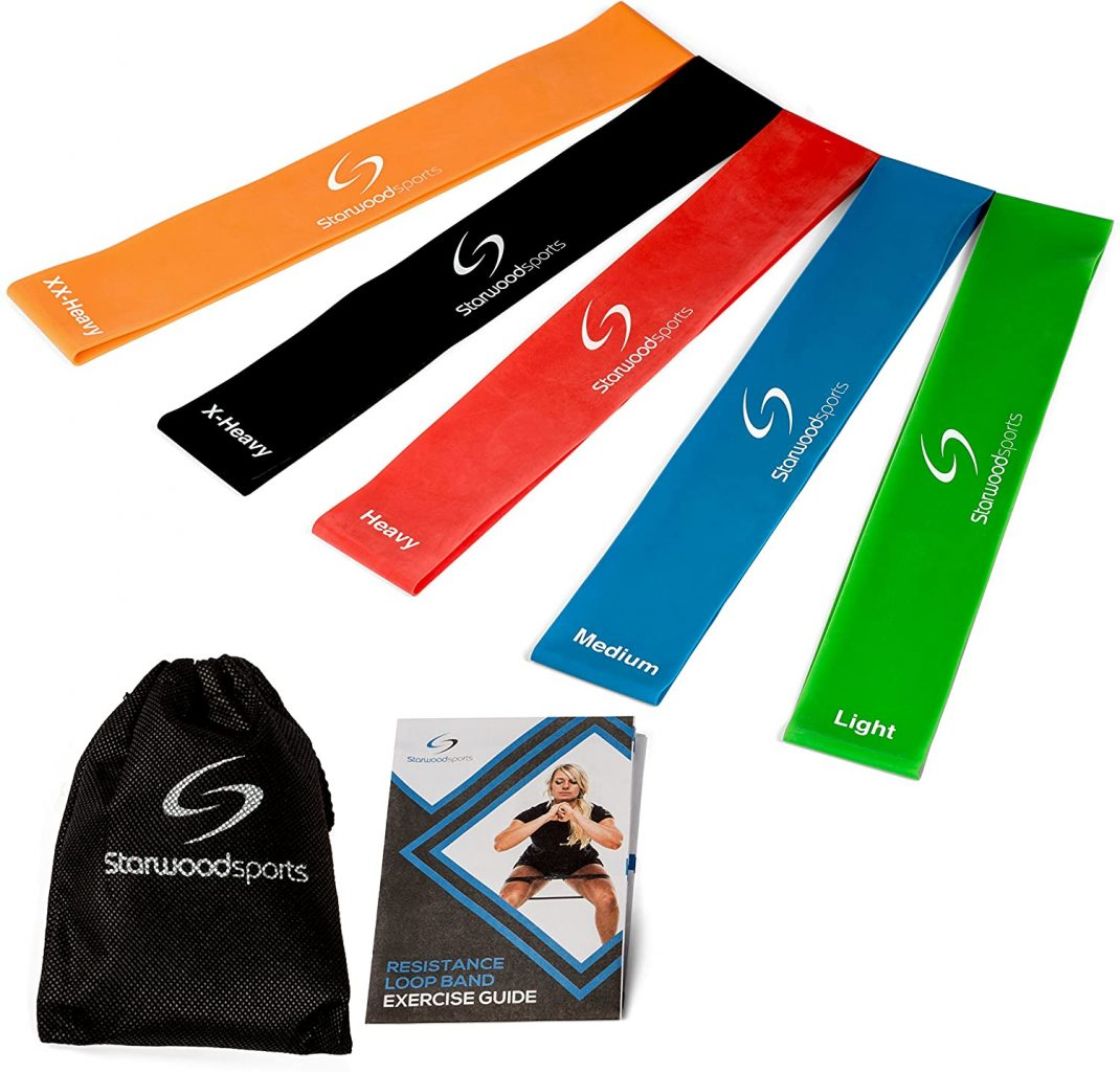 Starwood Sports Unisex Resistance Loop Exercise Bands