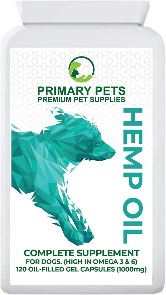Primary Pets Premium Pet Supplies Hemp Seed Oil for Dogs