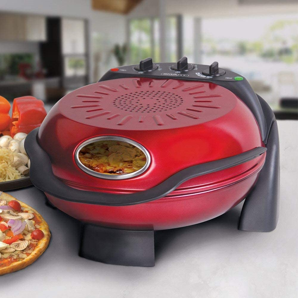 SMART Rotating Stone & Grill Pizza Maker