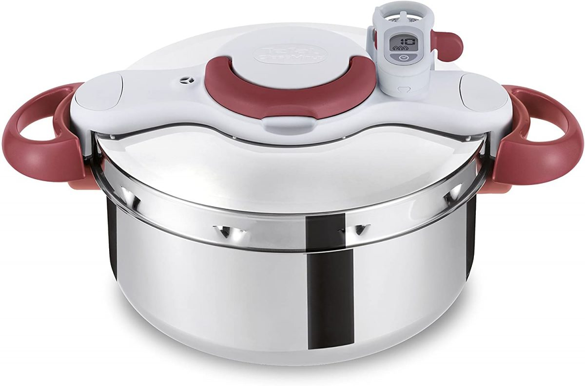 Tefal P4620733 Clipso Minut Perfect Pressure Cooker