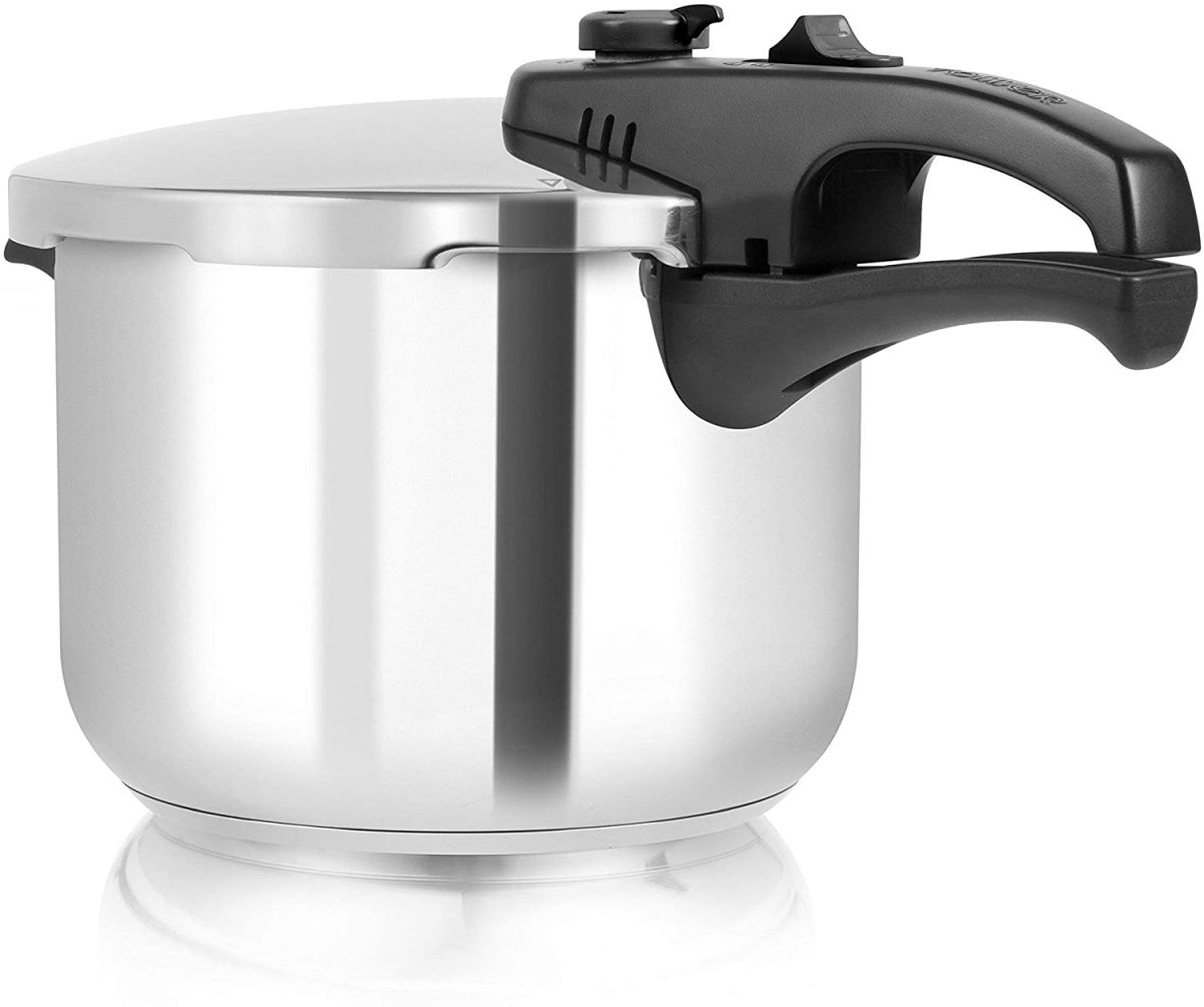 Tower T80244 Pressure Cooker with Steamer Basket