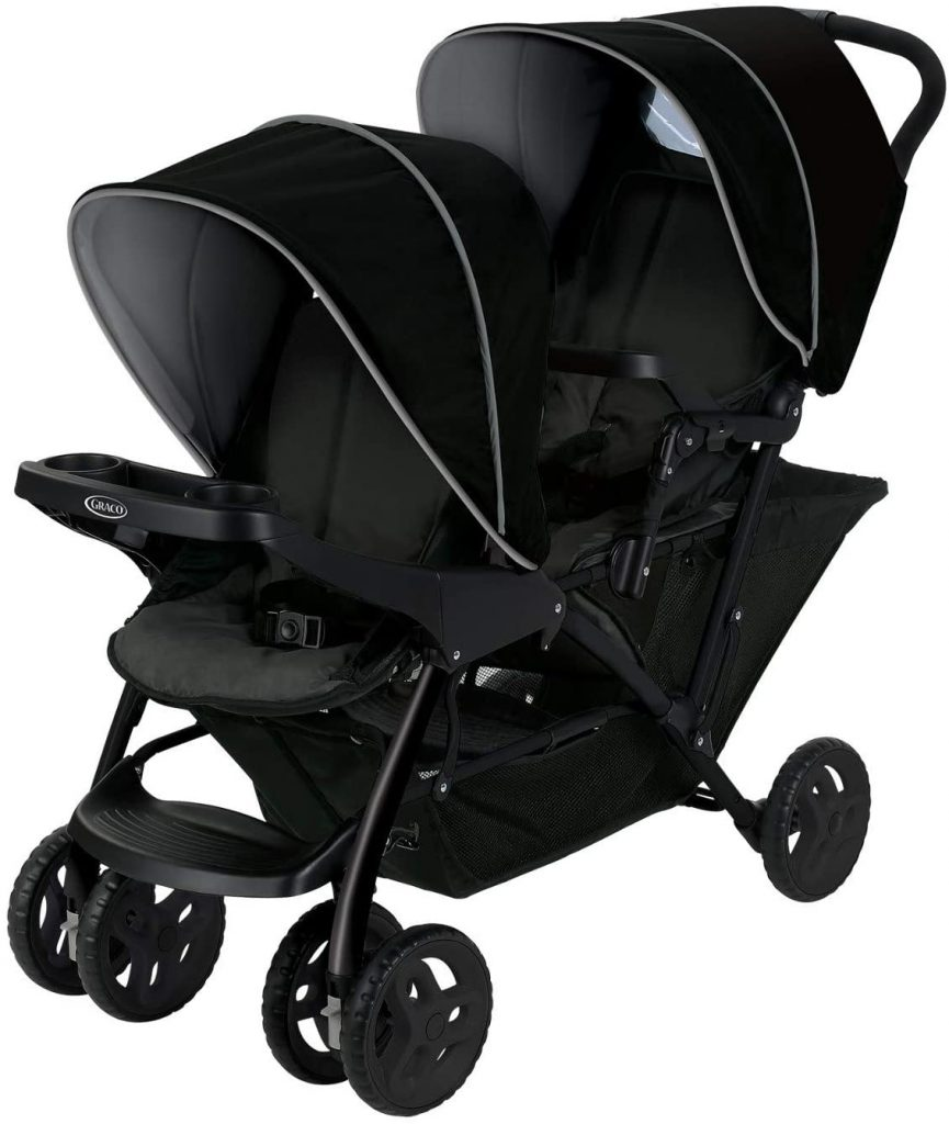 Graco Stadium Duo Click Connect Tandem Double Pushchair