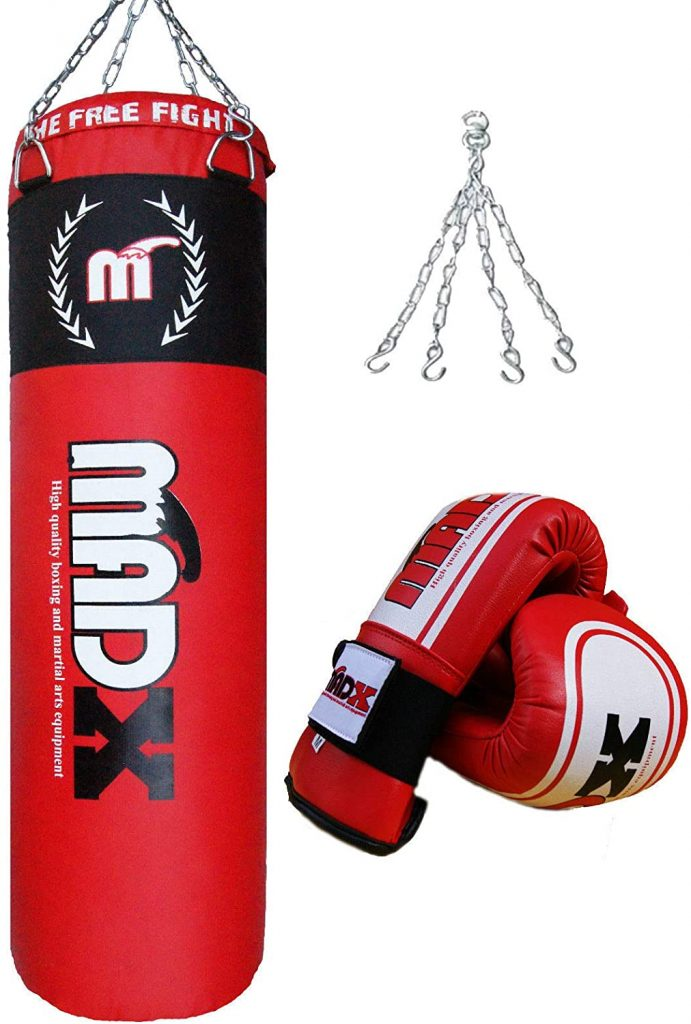 MADX 4ft filled punching bag heavy Punch Kickboxing Bag