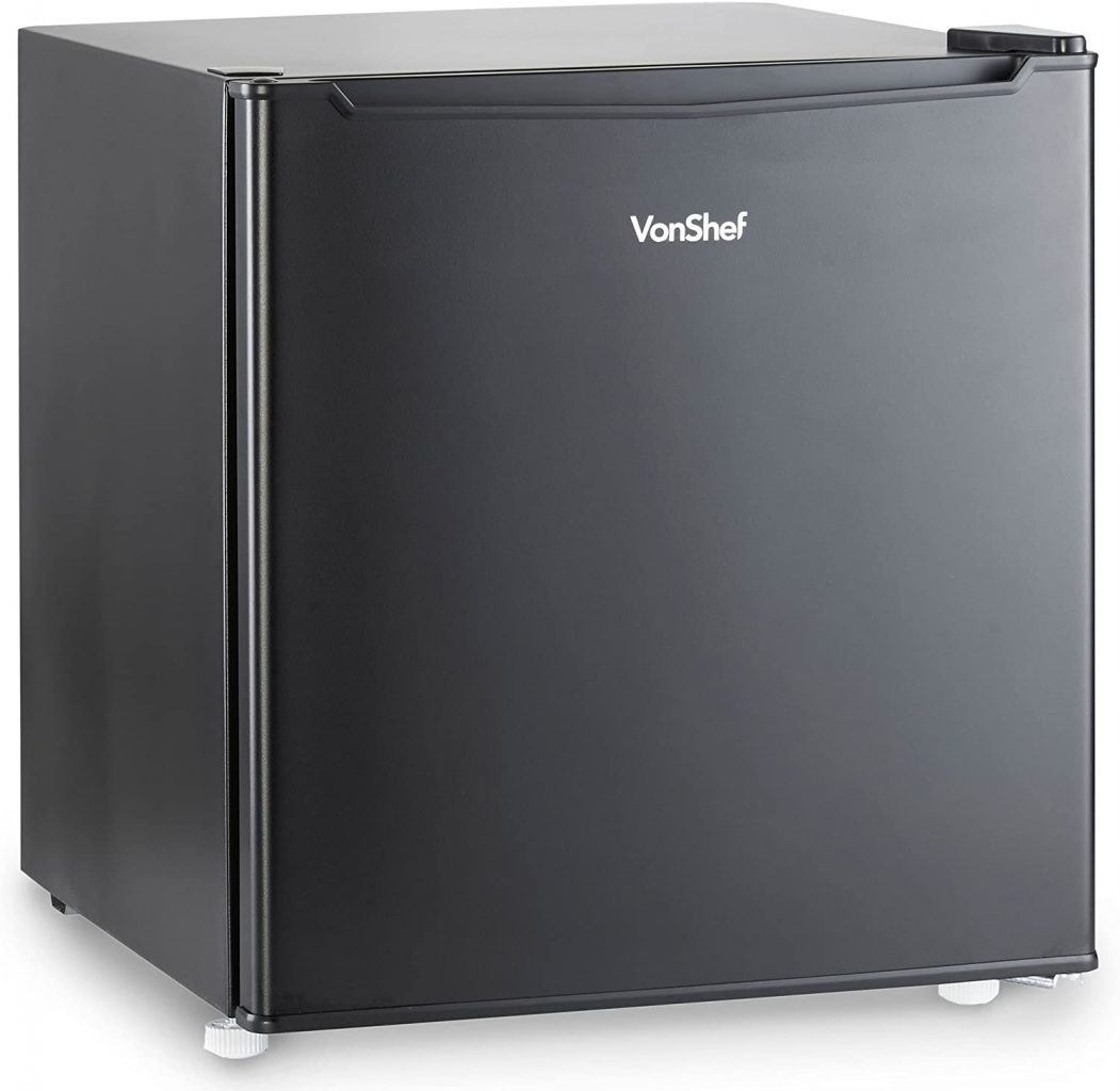 VonShef 47L Mini Fridge with Freezer