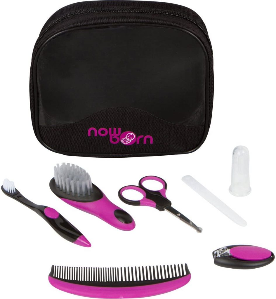 Baby Grooming Kit - 7 Piece Set for Infants