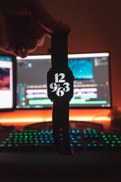 Desktop and watch