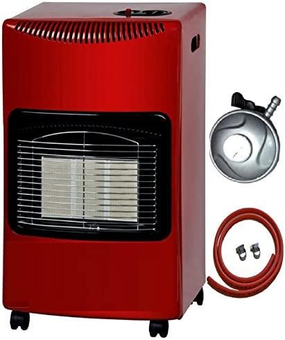 Indoor gas heater Progen red color 4.2kw